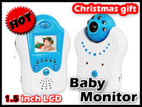 Wholesale GHz quot Color LCD Baby Monitor Night Video Camera homealarm Voice controls