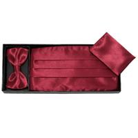 Wholesale hanky cummerbund bowtie neck tie set ceremonial belt men s tie knots towel corset tower paper tapes