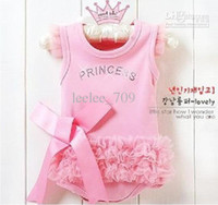 baby girl infant toddler princess romper ruffle romper lace ...