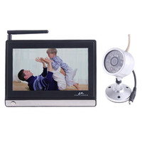 Wholesale New Arrival GHz Wireless quot Color TFT LCD Monitor IR Security Camera Weatherproof amp Nightvision