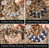 Party big bling jewelry - Bling Basketball Wives Earrings Big Inspired Hoop Earring colors Mixed Basketball Wives Jewelry