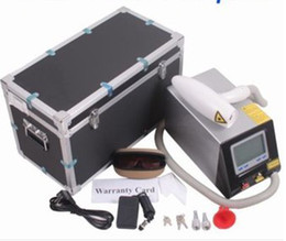 Updated Professional Q-SWITCH Nd Yag Laser Tattoo Removal Eyebrow Freckle Skin Spot Removal Laser beauty Machine