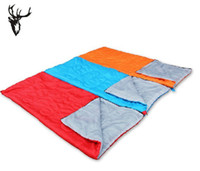 Wholesale The envelope sleeping bags outdoor camping sleeping bags can be joining together adult sleeping bags