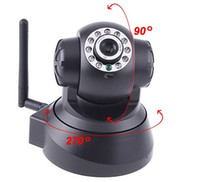 Wholesale Nightvision IR LED IR Webcam Web CCTV Camera WiFi Wireless IP Camera wireless Dual Audio