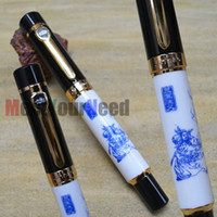 Calligraphy & Fountain Pens   JINHAO 650 THE RORMANCE OF THE THREE KINGDOMS 18KGP BOARD NIB FOUNTAIN PEN