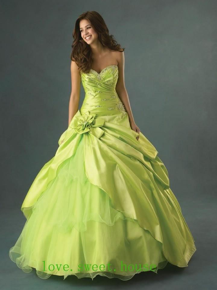 Wedding Dress Story Green Wedding Dresses