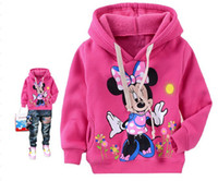 Wholesale 2012 new Girls spring baby jacket children fitted cotton plus cashmere sweater