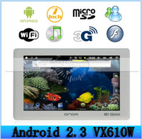Wholesale 7 quot AllWinner A10 Ghz Android MB DDR3 P Tablet PC Onda VX610W Tablet PC