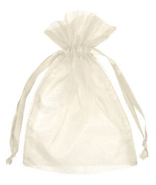 500pcs 7x9cm Ivory Cream Beige jewelry gift pouch wedding organza bags Wedding Favor Party