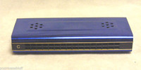 Wholesale quot SIMPLY BLUE quot DOUBLE SIDED TREMOLO HARMONICA in C G NEW