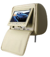 Wholesale Hot Selling quot LCD Headrest Car DVD Media Player with FM AV In amp Out TV SD USB Entertainment System