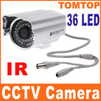 Wholesale IR Infrared LED Night vision CCD CCTV PAL camrea Security Surveillance Cameras not ip camera S151