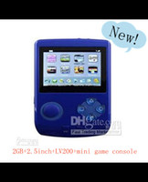 Wholesale Mini MP5 games player G LV200 MP4 inch video game player