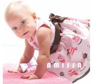 Wholesale AMISSA Girls dresses Girl s one piece Girl s party dress Baby cake cream dress