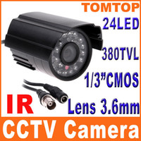Wholesale IR Infrared LED Nightvision CMOS PAL Color CCTV Security Surveillance Camera not ip camera S146