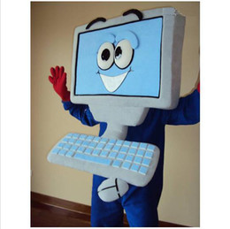 Wholesale EPE PROFESSIONAL LAPTOP COMPUTER MASCOT COSTUMES Halloween Party Fancy Dress