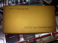 Wholesale 50set ch Active transmitter CCTV via Twisted pair Video UTP Balun Transceiver LRS Y03