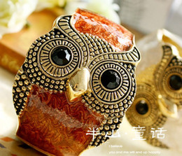 Wholesale Women s Accessories Women s Jewelry Bracelets MIX build MIX To Restore Ancient Ways Drops Glaze Owl