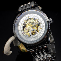 Wholesale 1pcs accurate Automatic mechanical watch stainless steel belt wrist watch mens luxury watches