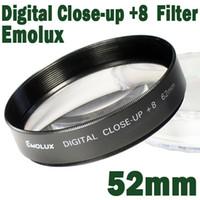 al por mayor cerca filtros-Emolux 52mm muy de CERCA(+8) Filtro de CERCA de Filtro de Alta calidad óptica de cerca de vidrio