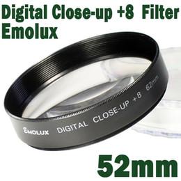 Cerca filtros en Línea-Emolux 52mm muy de CERCA(+8) Filtro de CERCA de Filtro de Alta calidad óptica de cerca de vidrio
