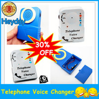 Wholesale Promotion televoicer disguiser wireless telephone voice changer handheld transfer device Cordless