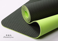 Wholesale TPE Eco Yoga mat Pilate mat Exercise mat