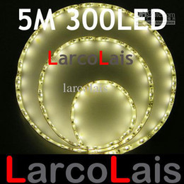 24PCS Waterproof 5M 300 LED 3528 1210 Flexible Strip Light Christmas Holiday Wedding Warm White