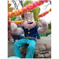 adult popeye costume - Adult Size EPE Popeye Mascot Costumes Sailor Cartoon Fancy Dress Halloween Party