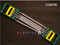 Wholesale Two Function Chest Pull Pulling Force Exercise Springs Resistance Band Chest Expander