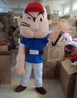 adult popeye costume - Popeye Poppe Adult Mascot Costume