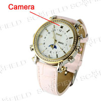 Wholesale Fashion Design Spy Watch Digital Video Recorder with MP3 Player GB Memory Included SS103029