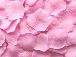 1500 pcs Pink Silk Rose Petal Wedding Favors Party Petals Decoration Hot