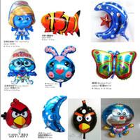 Multicolor ballon toys - balloons Balloon aluminum cartoon ballon party city helium Amusement Toys GIFT paty holiday