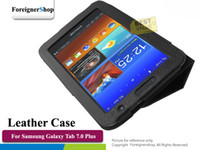 Wholesale For Samsung Galaxy Tab Plus P6200 P6210 Stand Synthetic PU Folio Leather Case Cover Skin