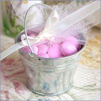 Wholesale Galvanized Mini Pails Wedding Favors Tin Boxes mini bucket candy boxes favors Party Decoration Favors and Supplies
