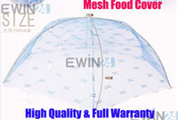 Wholesale Pop Up Mesh Food Cover Fruit Mask Prevent Mosquito Flies With Lace Foldable Good Quality