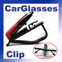 Wholesale Fashion Smart Car Vehicle Sun Visor Sunglasses Eyeglasses Holder Clip Portable Design Colors