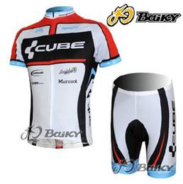 2012 CUBE BLACK WHITE CYCLING WEAR SHORT SLEEVE CYCLING JERSEY + SHORT SET SIZE:XS-4XL C043
