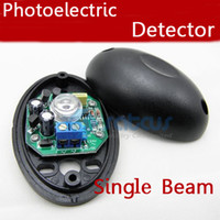 Single barrier detector - New Half Egg Shape Single Beam m Photoelectric Infrared Barrier Detector Alarm Fence