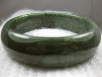 Wholesale 100 Nature Certified Chinese Hetian Green Nephrite Jade Bangle Bracelet MM