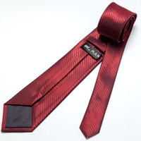 Wholesale 12 Each Order Brand New Shiny Dark Red Silk Mens Luxury Necktie H221