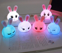 Wholesale NEW Light Multi Color Change LED Mood Lamp Night Baby Sleeping Home Deco NEW