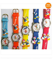 Wholesale 180PCS New MC Donald Duck D Wristwatches Child Gift