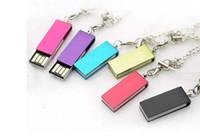 Wholesale 10PCS Swivel USB flash drives GB Swivel USB flash memory Twister USB pendrives