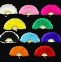 Wholesale Feather fan sub dance fan props fan feather fan