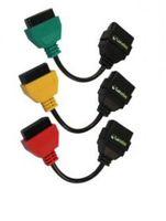 Car Diagnostic Cables and Connectors alfa interface - Fiat ecu scan interface Fiat ECUSCAN Adapter set post mail Alfa Fiat Connect cables colors