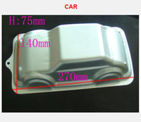 Wholesale 3D Car alloy Cake Mold Bakeware Baking pan Sugarcraft Cake molds baby shower cake mold