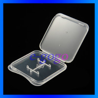 Wholesale Micro SD Card Packaging box memory card plastic case box TF Card Micro SD Card Plastic Case Box