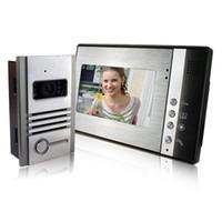 Wholesale 7 inch Video Door Phone quot color video door phone